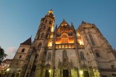 Santo Elisabeth Cathedral Imagen de archivo libre de regalías
