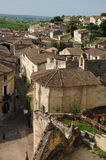 Santo Emilion en Aquitaine foto de archivo libre de regalías