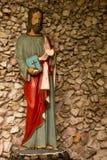 Santo - estatua de la religión católica Foto de archivo libre de regalías