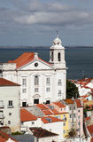 Santo Estevao Church Lisbon Stock Photography
