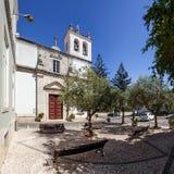 Santo Estevao Church också som är bekant som den Santissimo Milagre fristaden Royaltyfri Fotografi