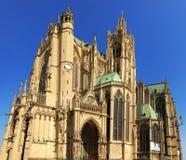 Santo Etienne Cathedral, Metz, Lorena, Francia, Europa Fotos de archivo libres de regalías