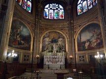 Santo-Eustache de Paroisse Foto de archivo