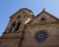 Santo Francis Cathedral en Santa Fe Fotos de archivo