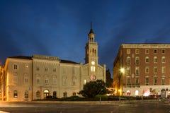 Santo Francis Monastery e iglesia fractura Croacia Fotografía de archivo libre de regalías