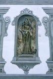 Santo, fresco en la abadía famosa de Benediktbeuern, Alemania Foto de archivo