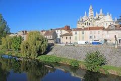 Santo Front Cathedral, Perigueux fotos de archivo