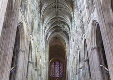 Santo Gatien de viajes, el valle del Loira, Francia de la catedral Fotografía de archivo