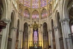 Santo Gatien de viajes, el valle del Loira, Francia de la catedral Fotografía de archivo libre de regalías