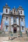 Santo Ildefonso教会在波尔图,葡萄牙 免版税库存照片
