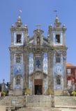 santo ildefonso церков стоковые фото