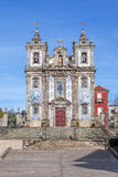 Santo Ildefonso Church in the city of Porto, Portugal Royalty Free Stock Photography