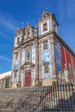 Santo Ildefonso Church in de stad van Porto, Portugal Stock Fotografie