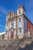 Santo Ildefonso Church in der Stadt von Porto, Portugal Stockfotografie