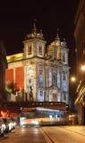 Santo Ildefonso Church, Porto Stock Photo