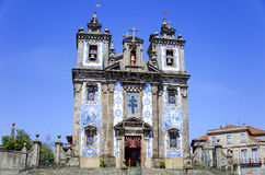 Santo Ildefonso Church, Porto Royalty-vrije Stock Foto's