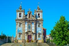 Santo Ildefonso Church Porto, Portugal royalty-vrije stock foto
