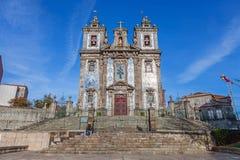 Santo Ildefonso Church Stock Images