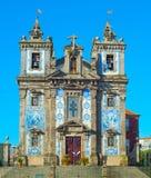 Santo Ildefonso Kirche Porto, Portugal Stockfotografie