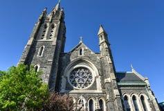Santo Inés, Roman Catholic Church, Brooklyn, NY Imagen de archivo libre de regalías