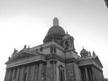 Santo Isaac& x27; catedral de s Fotografía de archivo