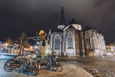Santo James Cathedral en Gante Imágenes de archivo libres de regalías