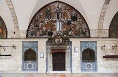 Santo James Cathedral Jerusalén, Israel Foto de archivo libre de regalías