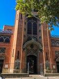 Santo-Jean-de-Montmartre church en París, Francia Foto de archivo