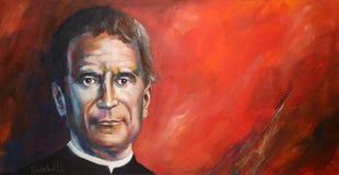Santo John Bosco Imagen de archivo