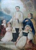 Santo John Bosco foto de archivo libre de regalías