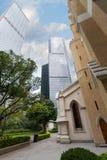 Santo John Cathedral en Hong Kong Imágenes de archivo libres de regalías