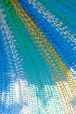 Santo John Flags foto de archivo libre de regalías