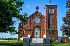 Santo John Nepomuc Catholic Church imagen de archivo