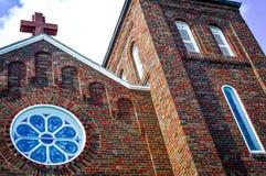 Santo John Nepomuc Catholic Church fotos de archivo