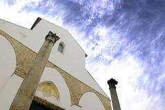 Santo Juan de la iglesia de Ravello Imagenes de archivo