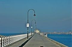 Santo Kilda Esplanade melbourne foto de archivo libre de regalías