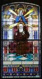 Santo Leopold Mandic Foto de archivo