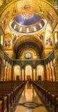 Santo Louis Basilica Rear Rose Window Foto de archivo libre de regalías