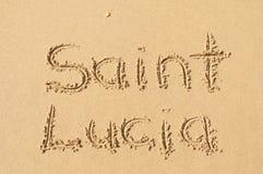 Santo Lucía Imagen de archivo libre de regalías