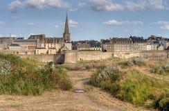 Santo Malo, Francia Imagen de archivo libre de regalías