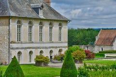 Santo Martin de Boscherville, Francia - 22 de junio de 2016: Santo Geo Fotos de archivo libres de regalías