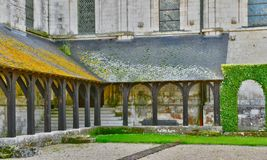 Santo Martin de Boscherville, Francia - 22 de junio de 2016: Santo Geo Imágenes de archivo libres de regalías