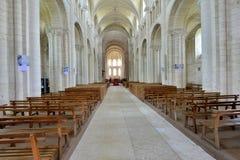 Santo Martin de Boscherville, Francia - 22 de junio de 2016: Santo Geor Foto de archivo