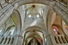 Santo Martin de Boscherville, Francia - 22 de junio de 2016: Santo Geor Fotografía de archivo