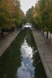Santo Martin Paris del canal Imagenes de archivo