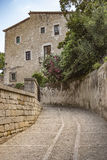 Santo Mary Cathedral en Girona Imagenes de archivo