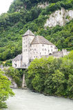 Santo-Mauricio (Suiza) Fotos de archivo