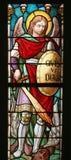 Santo Michael Archangel Imagenes de archivo