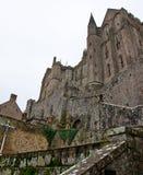 Santo Michel Mountain Normandy, Francia Imagen de archivo