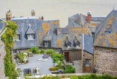 Santo Miguel, Normandía, Francia de Mont Imagenes de archivo